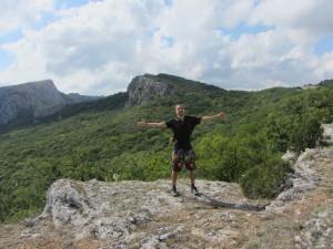 Крым высокая гора над морем на над форосом