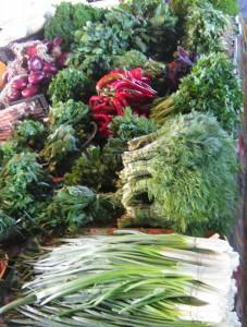 Зелень полезная для вашего здоровья