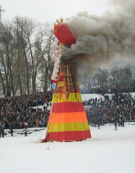 Сжигание масленицы, Петешествие в вологду, новости сайта http://samosoverhenstvovanie.ru