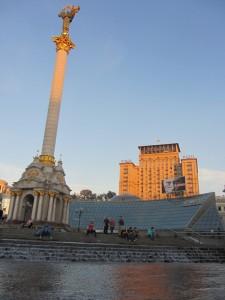 Красота современного киева, Киев центр города.