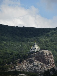 Церковь в Крымких горах, церковь на горе,