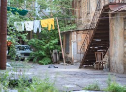 Что надо знать об одессе туристу, колоритные одесские дворики, Еврейский двор в Одессе