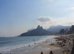 Весна бразильские пляжи.