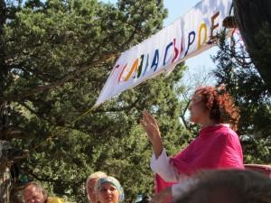 Бритарианка преподает в Крыму, солнцеедение в Украине в Крыму