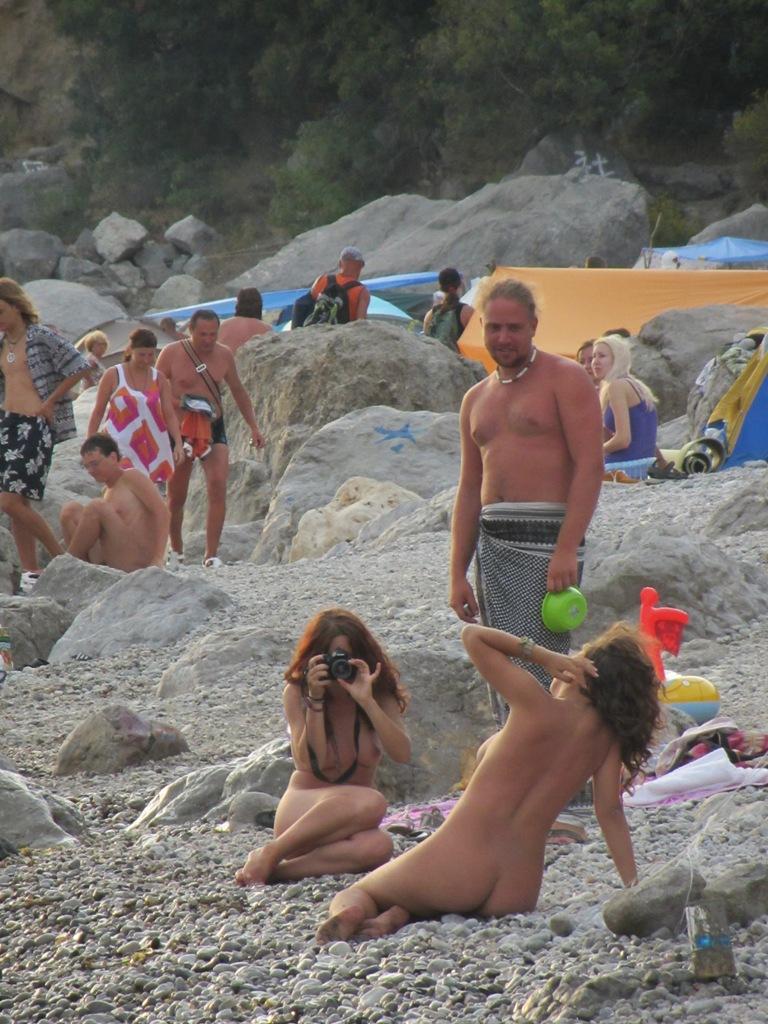 Форос секс на пляже