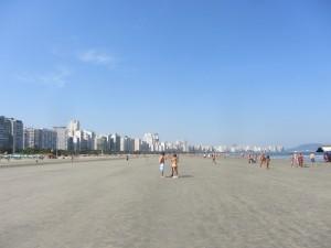 Лучшие бразильские пляжи, Сантос город.