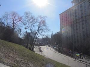 Barricades at Maidan photo