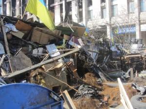 Barricades at Maidan photo (5)
