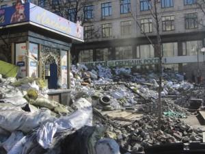 Barricades at Maidan photo (6)