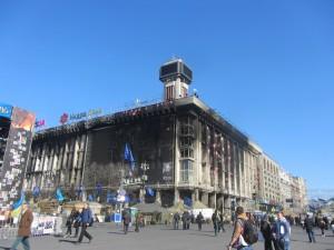 photos from Maidan in Kiev today