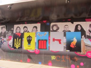 propaganda against Russia at the Independence Square in Kiev photo (8)