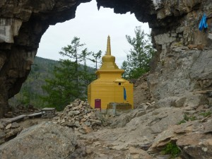 Фото ступы в Храме Ворота, Hram Vorota, Stupa