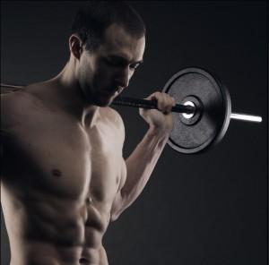 Правила грамотного дыхания в силовых упражнениях, Дыхание при жиме лежа,