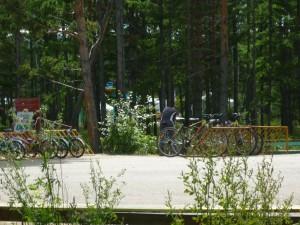фото прокат велосипедов на Алханае, bike rental