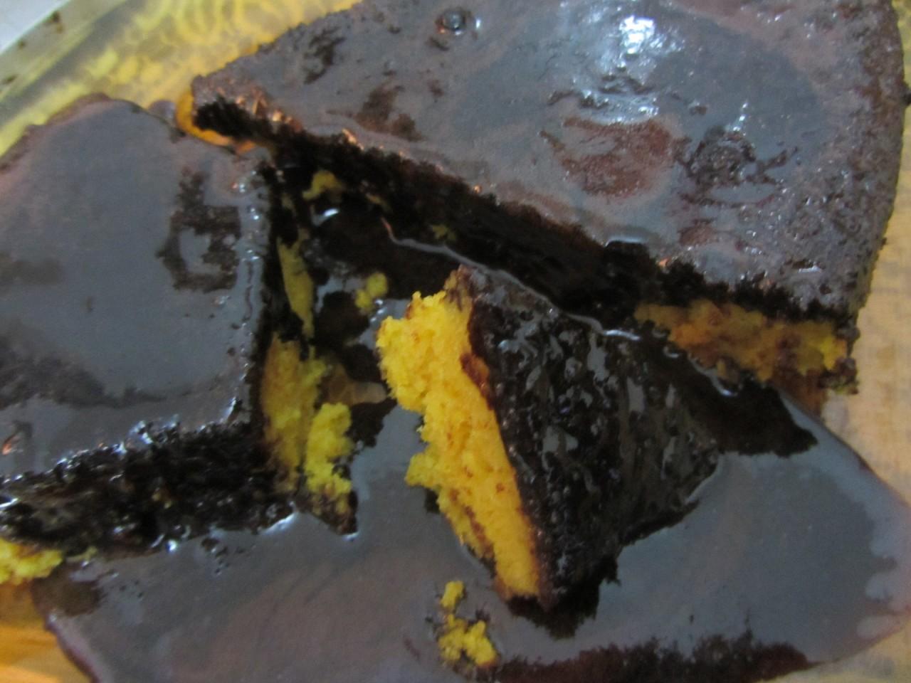 Шоколадный морковный пирог, Chocolate Carrot Cake