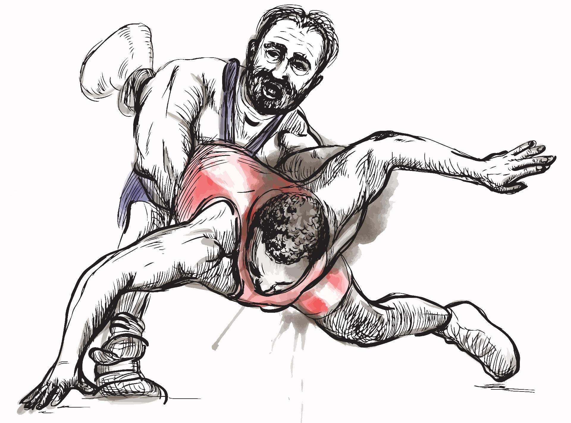 вид борьбы самый лучший, Боевое Сумо, Национальные виды борьбы.