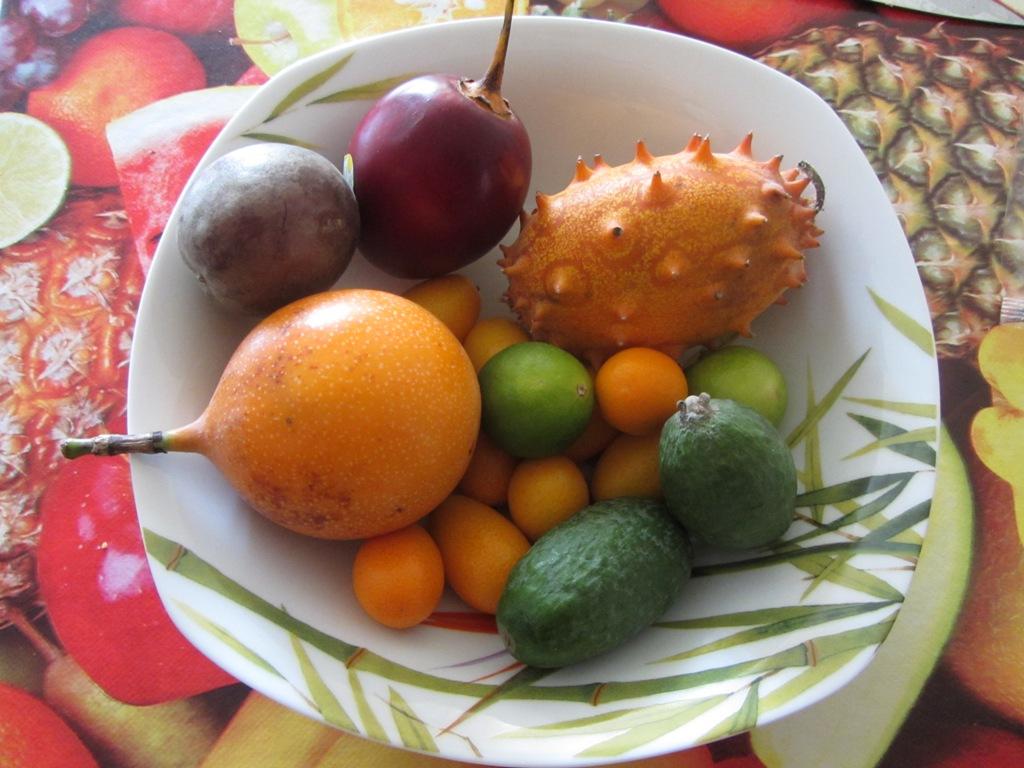 экзотические овощи и фрукты фото и названия