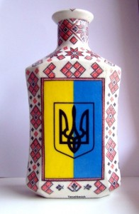 Декупаж в украинском народном стиле