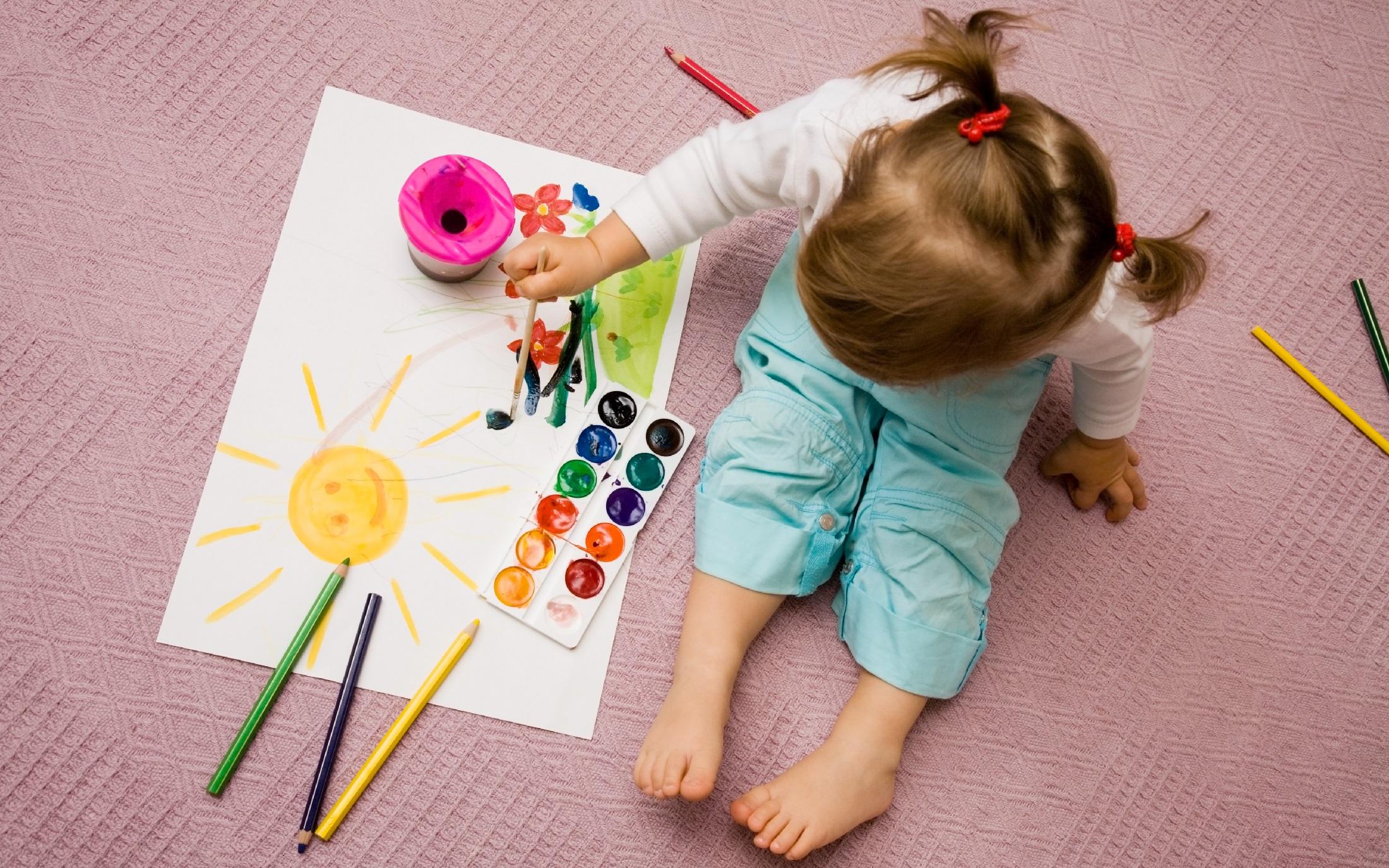 творчество детское и взрослое.