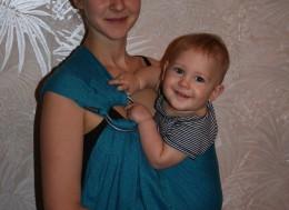 Удобство и польза слингоношения для ребенка,