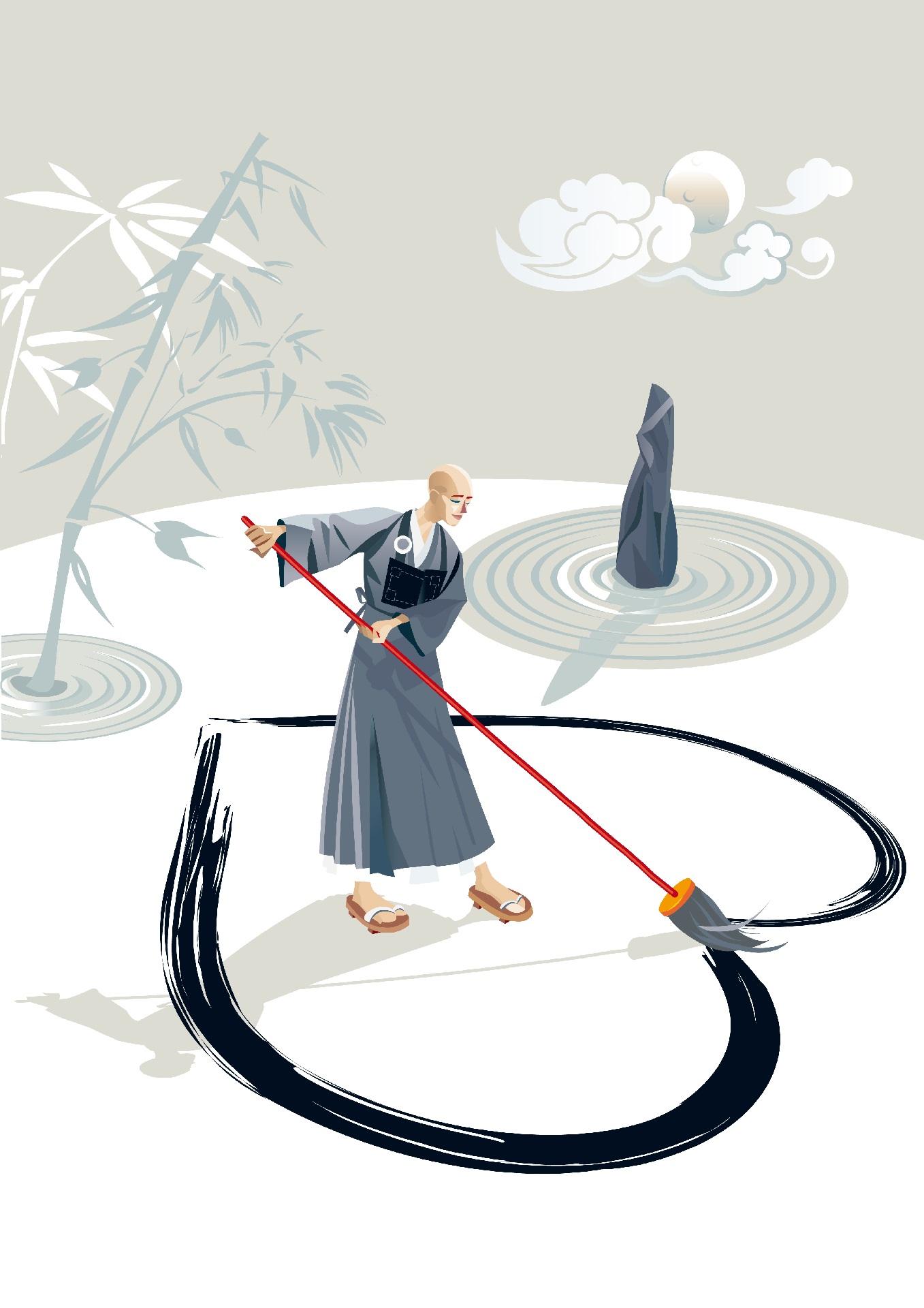 Как выполнять медитацию дзен.