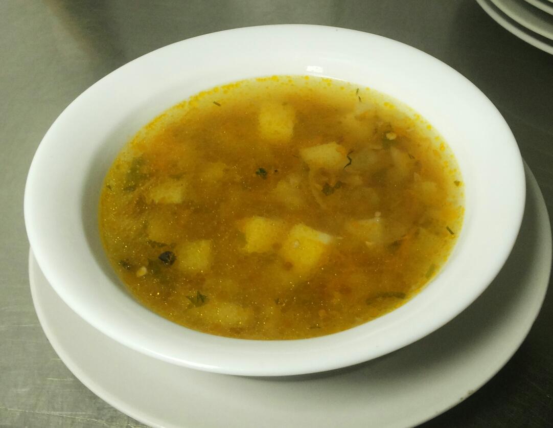 постные первые блюда, суп с гречкой, sup grechnevyj