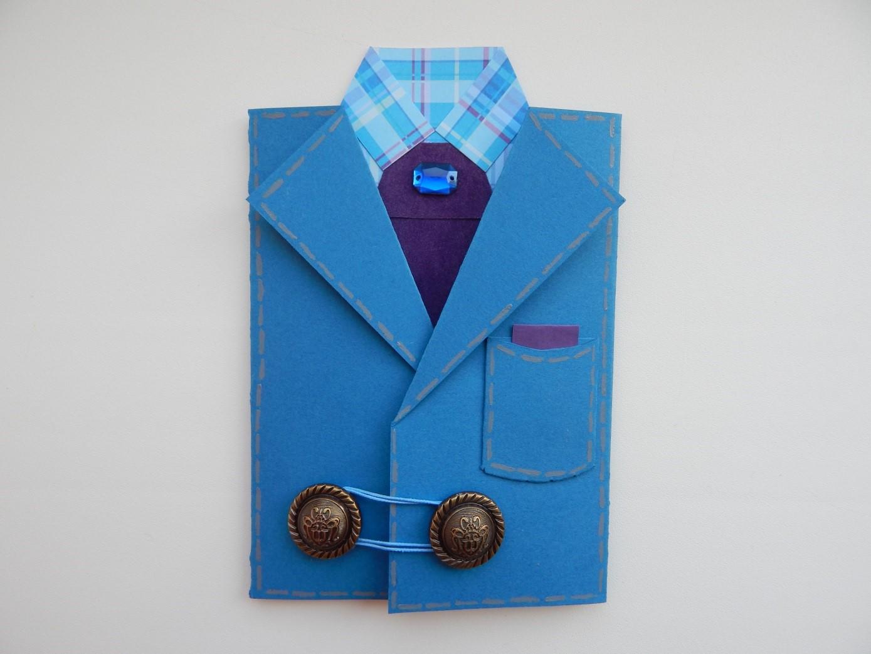 Открытка открытки, мастер класс открытка рубашка с пиджаком
