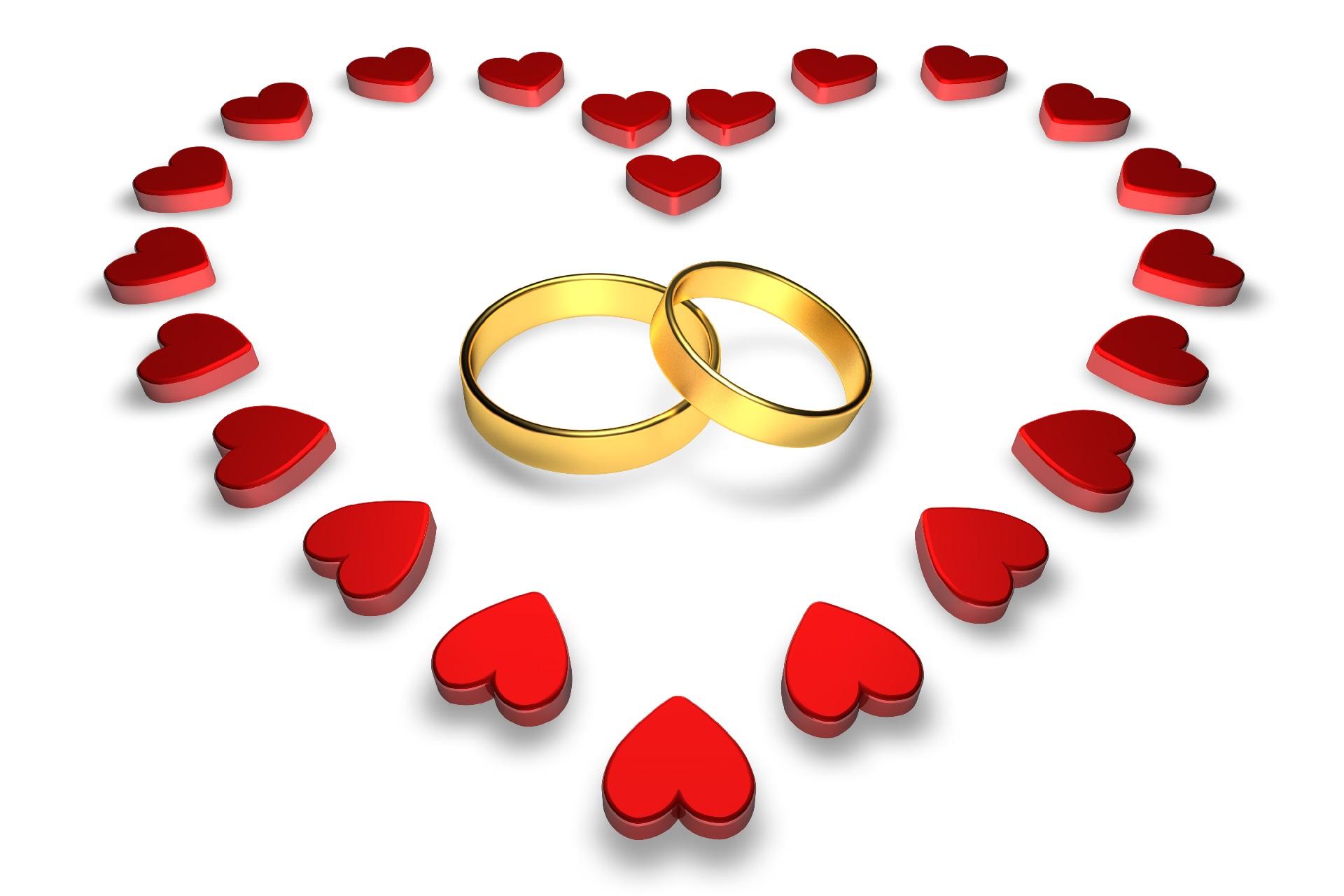 Виды годовщин свадеб