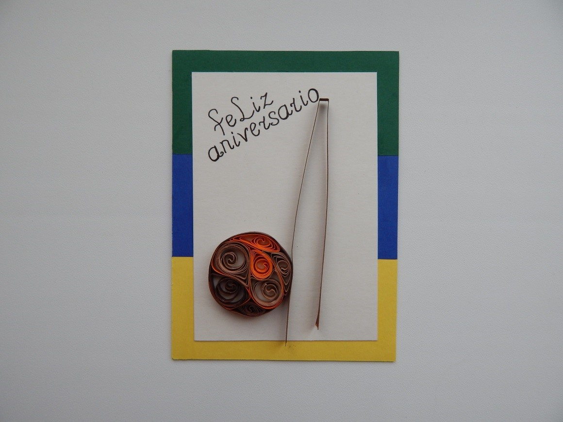 Мастер класс создания открытки для капоэриста