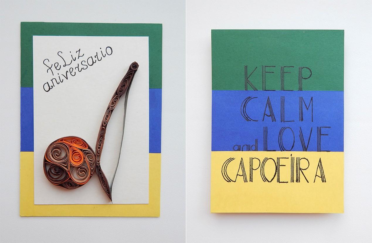 Мастер класс «создание эксклюзивной авторской открытки своими руками», Создание эксклюзивной авторской открытки для спортсмена,