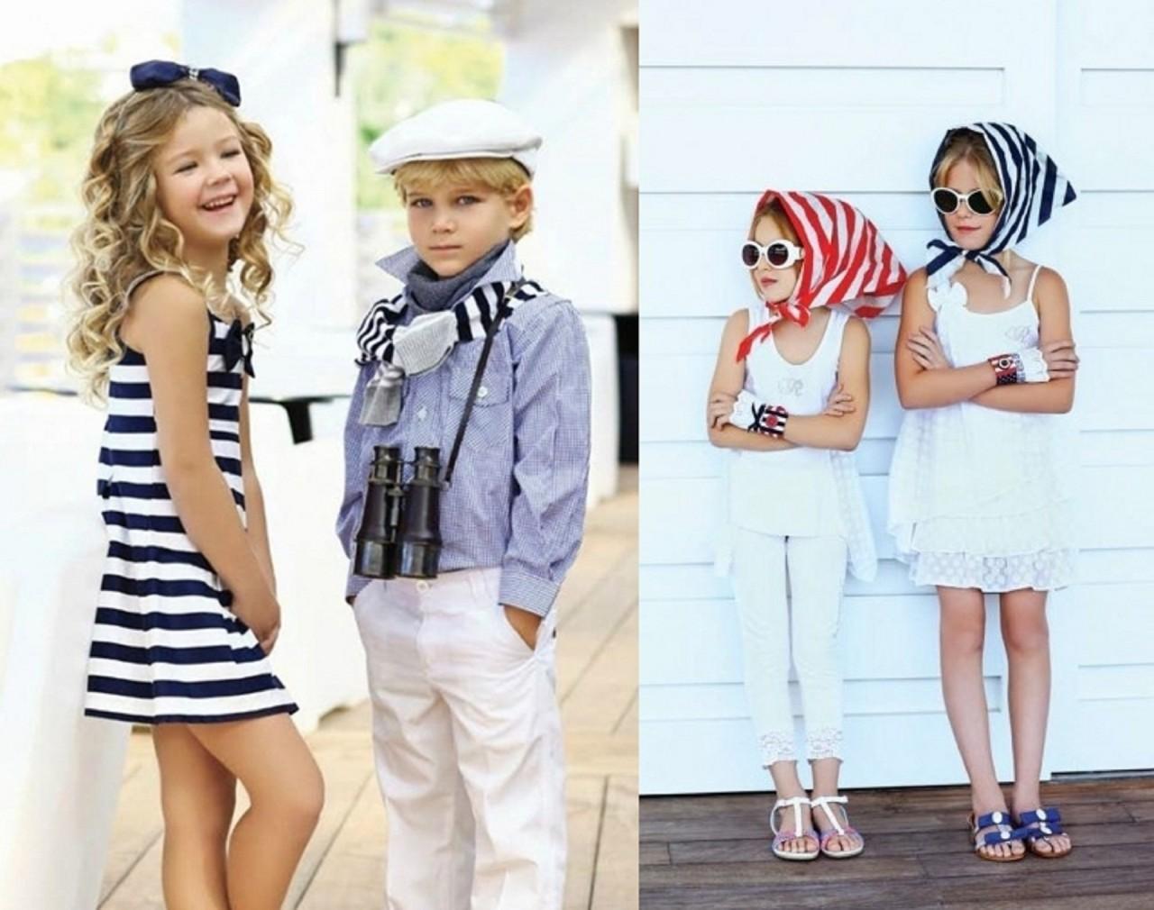 Дети на фото в стиле