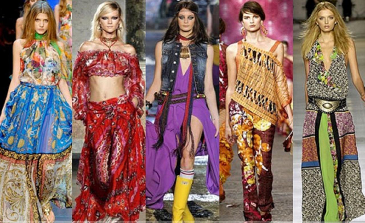 Цыганский стиль в высокой моде