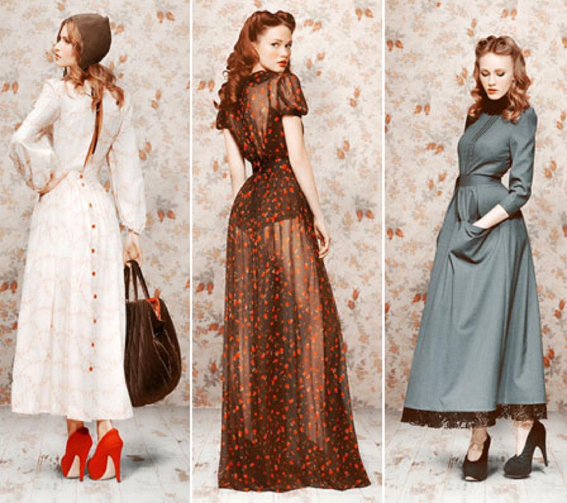 Фото платьев стиле 70 х