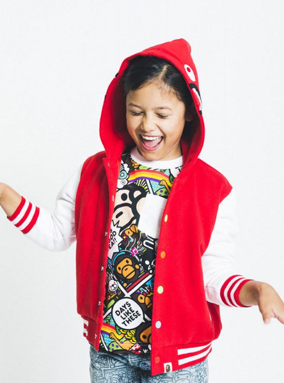 Детская одежда в стиле спорт-шик
