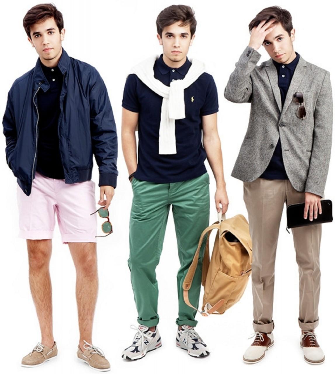Мужская одежда в стиле спорт-шик