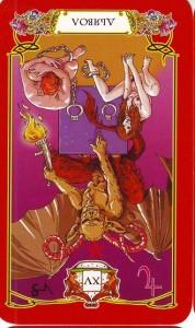 """Перевернутая карта Таро """"Дьявол"""", Perevernutaja Karta Taro «D'javol»"""