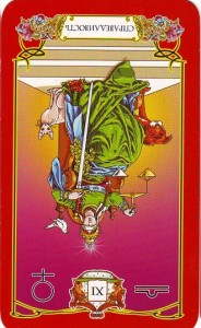"Перевернутая карта Таро ""Справедливость"", Perevernutaja Karta Taro «Spravedlivost'»"