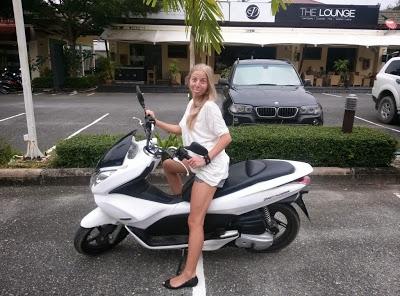 аренда мотобайка на пхукете, аренда транспорта таиланд, honda motobike thailand