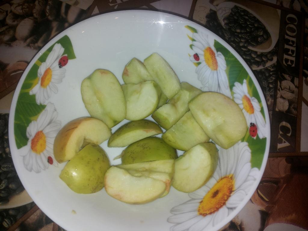 Начинка для гуся с яблоками