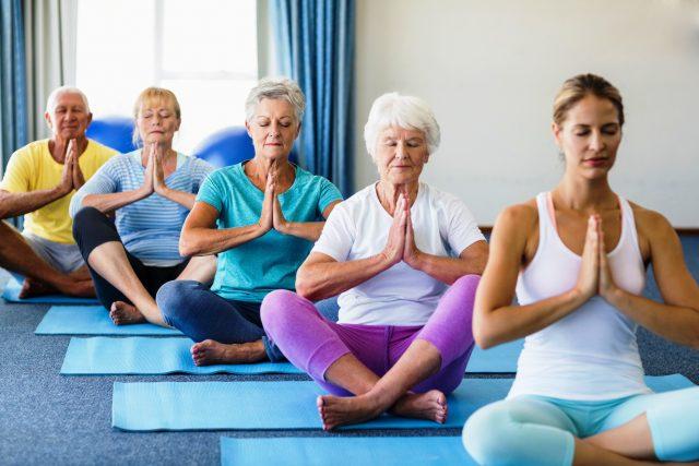Йога для незрячих теперь реальность: ноу-хау 21 века